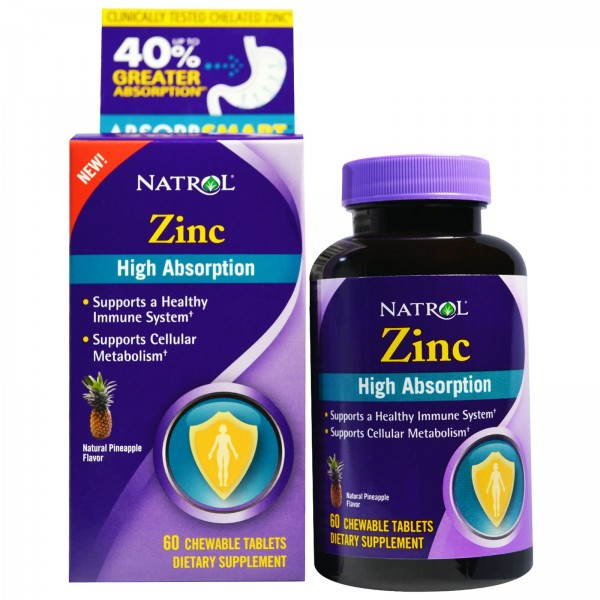 NATROL Zinc - High Absorption