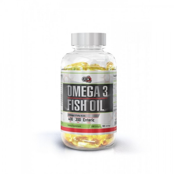 PURE NUTRITION FISH OIL 400 EPA / 200 DHA