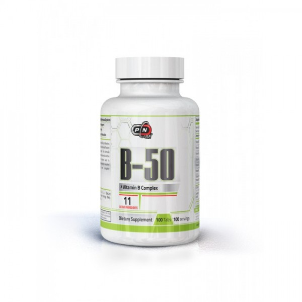 PURE NUTRITION VITAMIN B-50