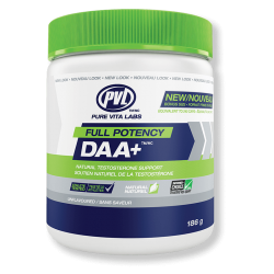PVL Full Potency DAA+ (D-Aspartic Acid)