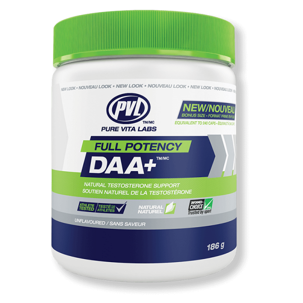 PVL Full Potency DAA+ (D-Aspartic Acid)