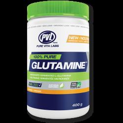 PVL 100% Pure Glutamine - 0.400kg.