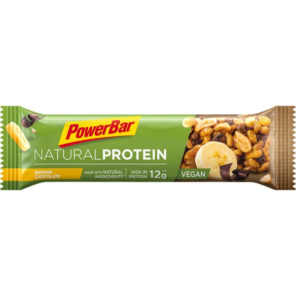PowerBar Natural Protein - Веган протеинов бар - 40г