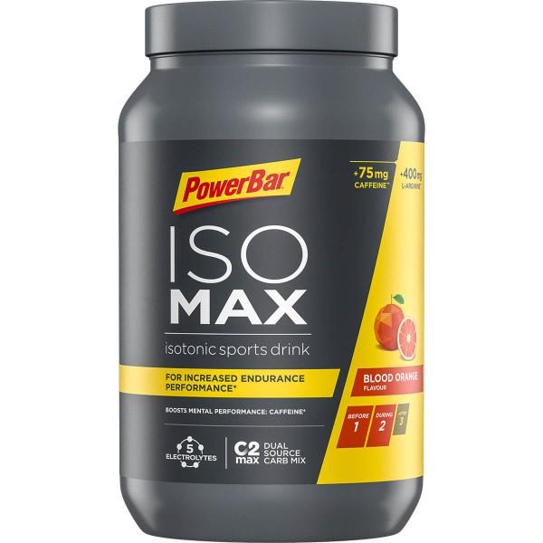PowerBar IsoMAX - Изотонична спортна напитка с кофеин - 1200г