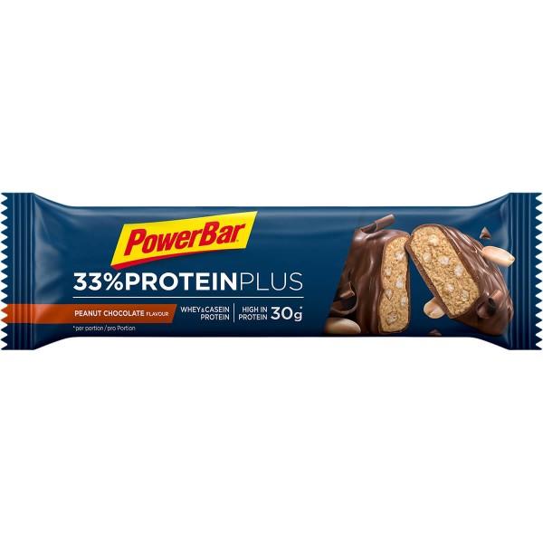 PowerBar 33% Protein Plus - Протеинов бар - 90г