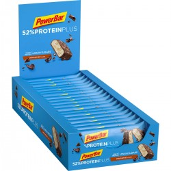 PowerBar 52% Protein Plus - Протеинов бар - 20x50г