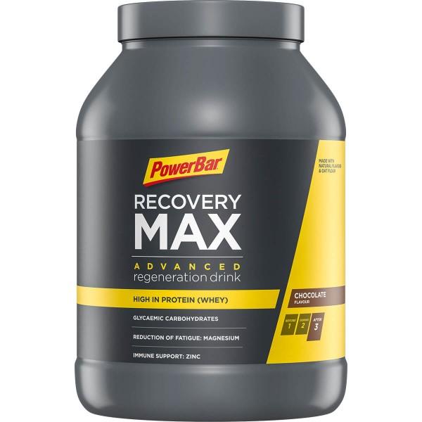PowerBar Recovery MAX - Въглехидратна протеинова напитка - 1144г