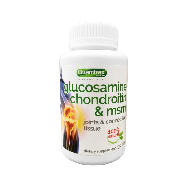 QUAMTRAX Glucosamine Chindroitin MSM