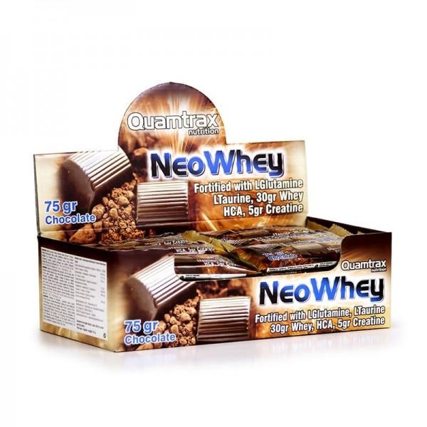 QUAMTRAX Neo Whey Bar Chocolate