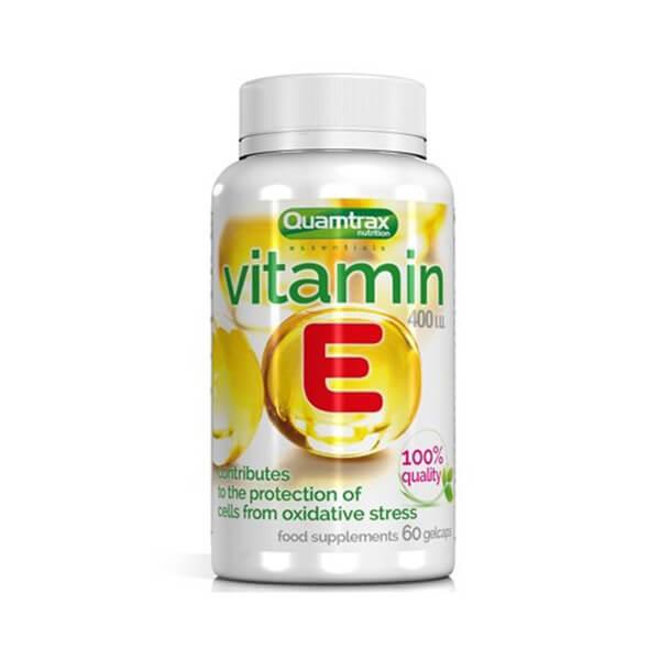 QUAMTRAX Vitamin E 400 IU / 60 gelcaps
