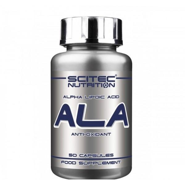 SCITEC ALA - Alpha-Lipoic Acid 250 mg.