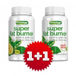 QUAMTRAX Super Fat Burner - ПРОМО СТАК (1+1 FREE)